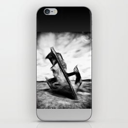 Ghostly Wreck iPhone Skin