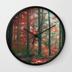 into the woods 11 Wall Clock