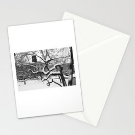 White Campus Stationery Cards