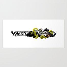 """OKTABIS"" Art Print"