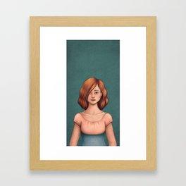 Standing here Framed Art Print
