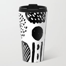 Abstract Hand Drawn Patterns No.3 Travel Mug