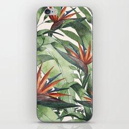 Tropical Flora I iPhone Skin