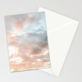 Birds of Paradise | Nosara Costa Rica Sunset Fine art photography print | Travel vibes Stationery Cards