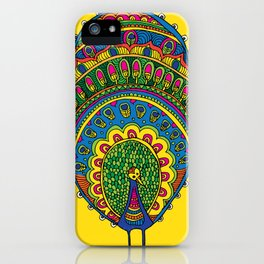 Dreaming of a Peacock  iPhone Case
