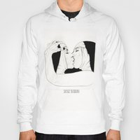 lesbian Hoodies featuring Lesbian Nuns  by sausageplayground