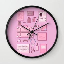 Grand Budapest Items Wall Clock