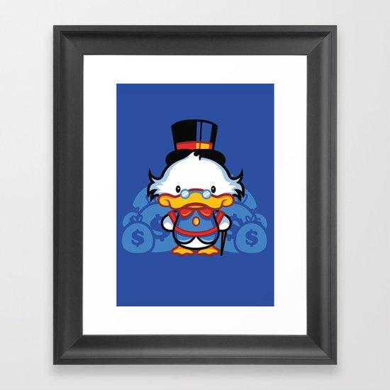 Hello Scroogie Framed Art Print