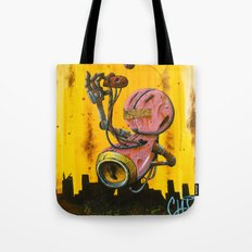 A pink robot for Akira Tote Bag