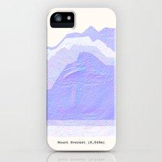 Mount Everest iPhone SE Slim Case