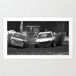 Car Racing Art Print