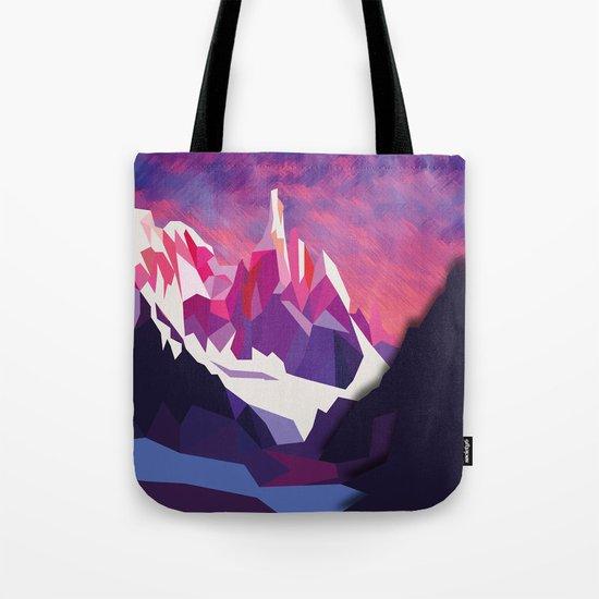 Night Mountains No. 12 Tote Bag