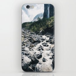 Stream in the Alps iPhone Skin