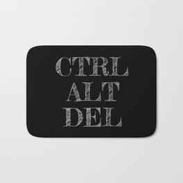 CTRL ALT DEL dark Bath Mat
