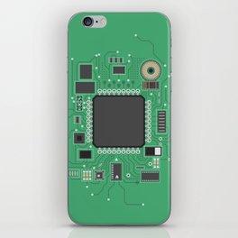 Chip set iPhone Skin