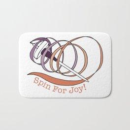 Spin For Joy! Bath Mat