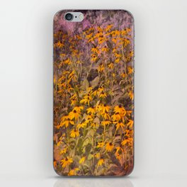 Yellow Jungle iPhone Skin