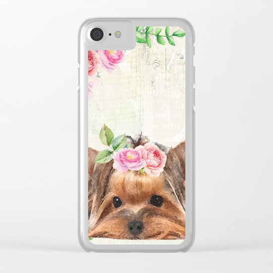 Sweet animal #5 Clear iPhone Case