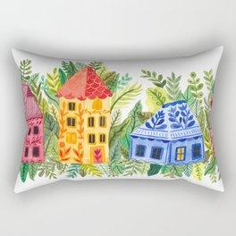 Botanical Street Rectangular Pillow