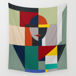 NAMELESS WOMAN Wall Tapestry