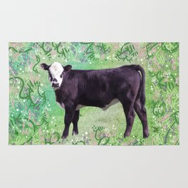 Charming Little Calf Rug