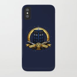 Tardis Nouveau iPhone Case