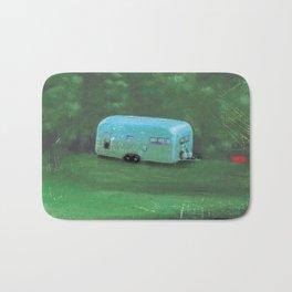 airstream trailer - by phil art guy Bath Mat