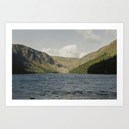 Glendalough Upper Lake Art Print