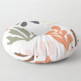 Seagrass - dawn Floor Pillow