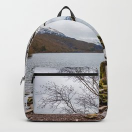 Winter in Snowdonia, Wales Backpack