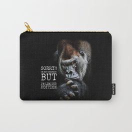Gorilla - i'am not perfect but i'am limited edition Carry-All Pouch
