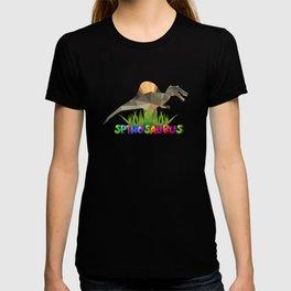 Spinosaurus cool Jurassic dinosaur T-shirt