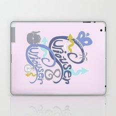 Curiouser & Curiouser (Pink) Laptop & iPad Skin