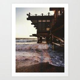 Redondo Beach. Art Print