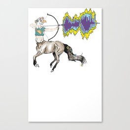 eagle centaur Canvas Print