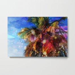 Party Palm Metal Print