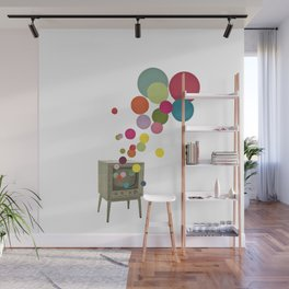 Colour Television Wall Mural