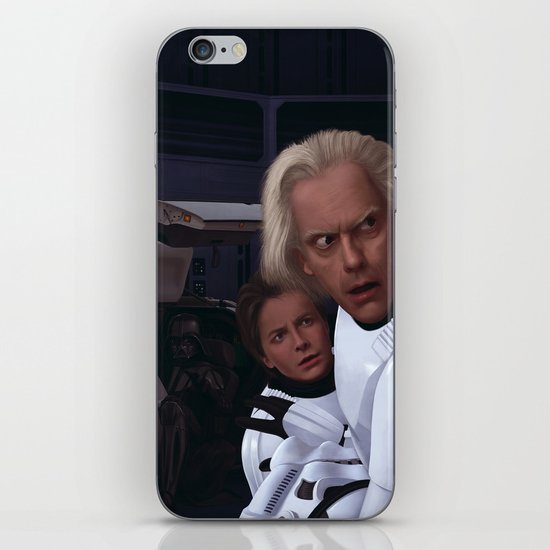 I Find Your Lack Of Jiggawatts Disturbing iPhone & iPod Skin
