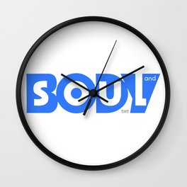 BODY and SOUL Wall Clock