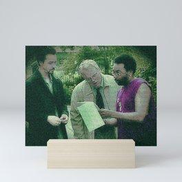 A Script For Ed & Philip By A Spike Mini Art Print