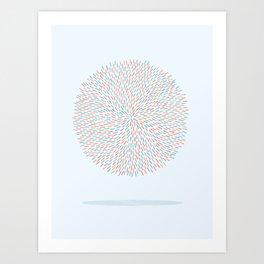 Circle Murmuration Art Print