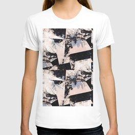 Beige et bois T-shirt