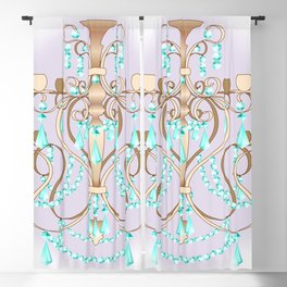 Chandelier - Colorful Blackout Curtain