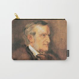 Richard Wagner (1813 – 1883) by Franz von Lenbach (1836 - 1904) Carry-All Pouch