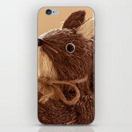 Penita and the pinecone iPhone Skin