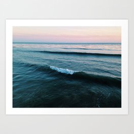 Forming Wave Art Print
