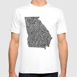 Typographic Georgia T-shirt