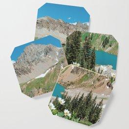 The Blue Lakes of Colorado Coaster