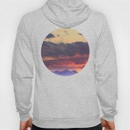Crazy Mountain Sunset Hoody