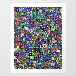 Photo Frames Art Print